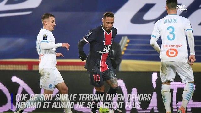PSG - OM : Titres, poubelles et Pelé... Nuit de clashs sur Twitter entre Neymar et Alvaro