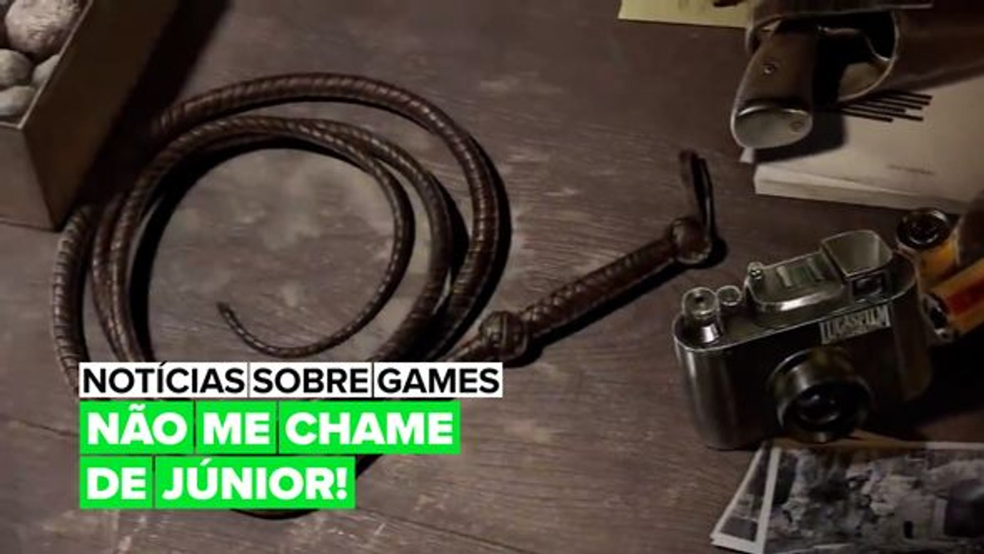 A Bethesda anuncia de surpresa um novo game de Indiana Jones