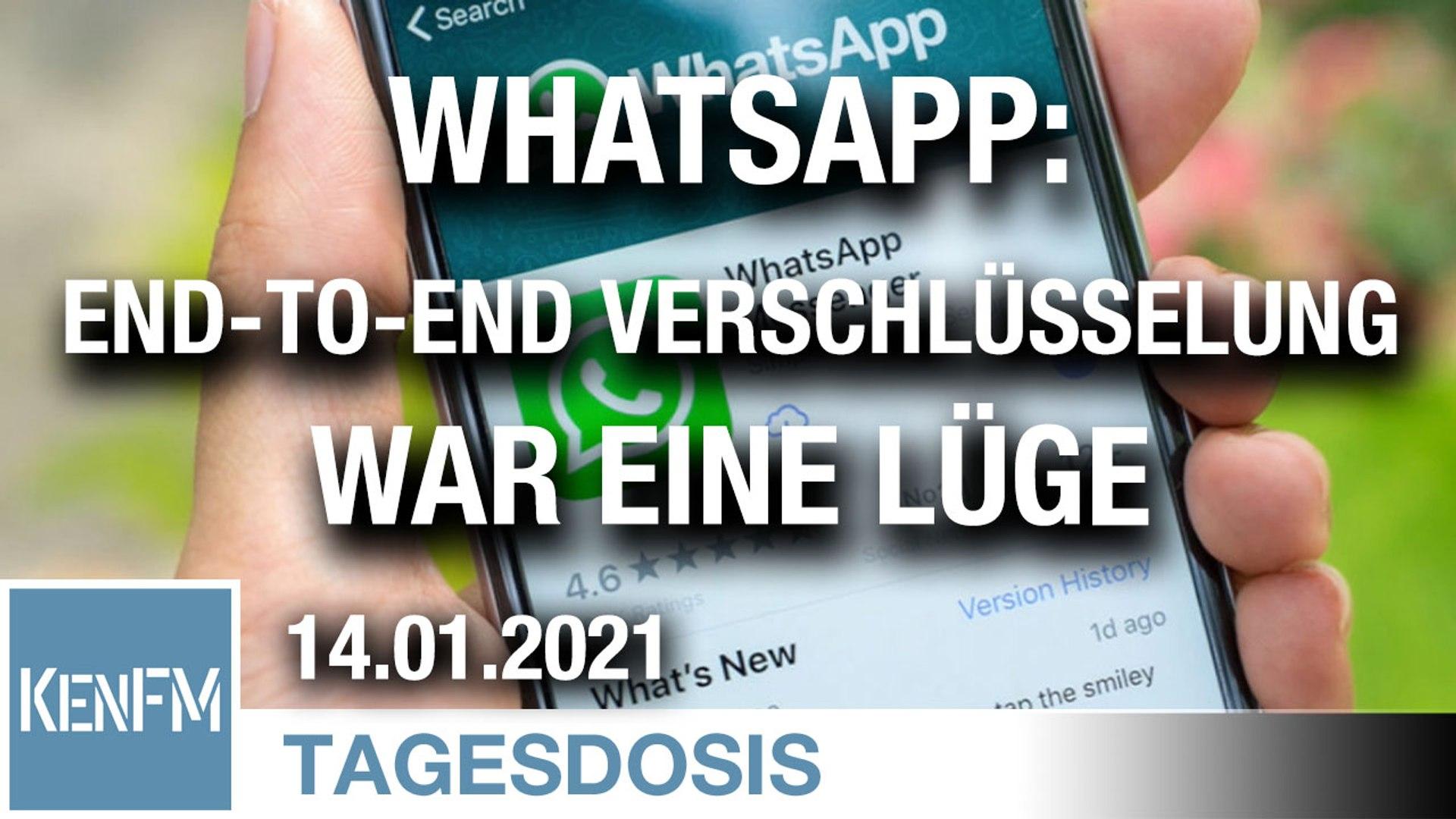 WhatsApp: Die End-to-End Verschlüsselung war eine Lüge