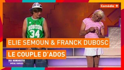 Elie Sémoun et Franck Dubosc - Le couple d'ados - Comédie+