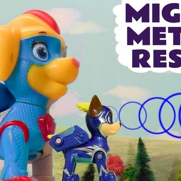Paw Patrol Mighty Metoer Prank Rescue with the Mighty Pups Charged Up and the Funny Funlings in this Family Friendly Full Episode English Toy Story Video for Kids from Family Channel Toy Trains 4U