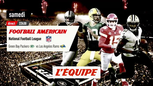 Green Bay Packers vs Los Angles Rams, bande annonce - Foot US - NFL