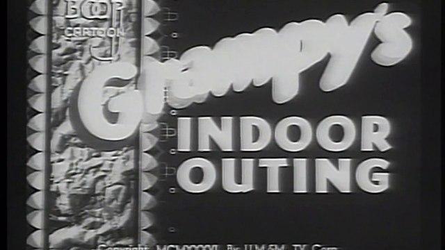 Betty Boop - Grampy's Indoor Outing (1936)