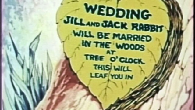 Bunny Mooning (1937) Color Classic
