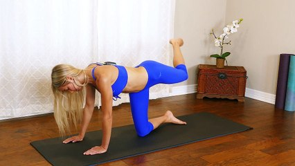 15 MIN Butt Burnout Tone your Booty , No Equipment