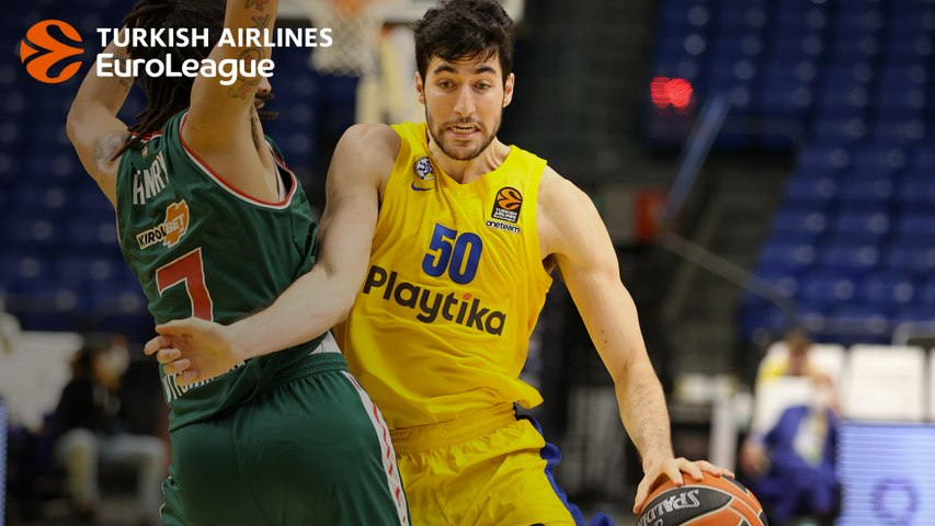 Yovel Zoosman stepped into the void for Maccabi against Baskonia