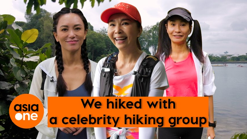 Celebrity Doing Things: Hiking with Chen Xiuhuan, Phyllis Quek and Angela Ang