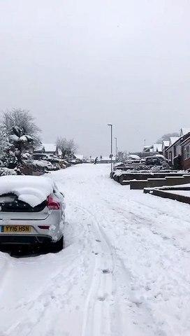 Snowboarding in Farsley