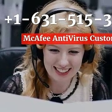 McAfee AntiVirus Install (1-631-515-3533) Technical Helpline Number