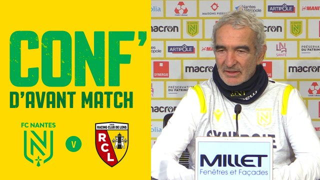 Raymond Domenech avant FC Nantes - RC Lens