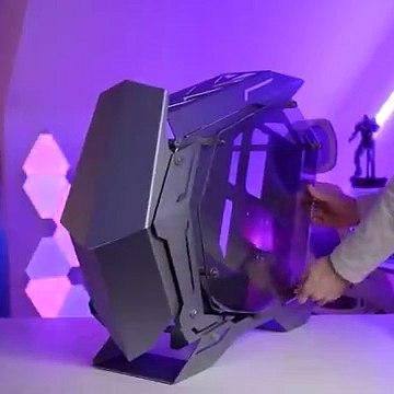 EPIC $3000 PC Build Time Lapse - Silver Mech Warrior w RTX 3080 VISION
