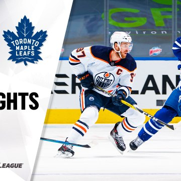 NHL Highlights | Oilers @ Maple Leafs 1/22/21