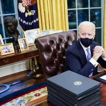 The Meaning Behind President Biden's Oval Office Decorations