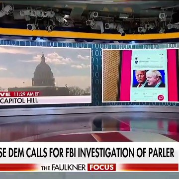 Democrats call for FBI to investigate Parler's role in Capitol riot