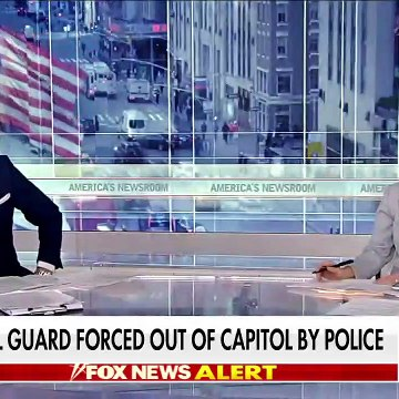 National Guard troops forced out of Capitol by police