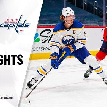 NHL Highlights | Sabres @ Capitals 1/22/21