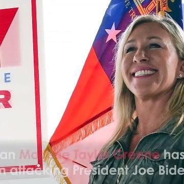 QAnon Congresswoman Marjorie Taylor Greene Files Impeachment Articles AGAINST President Joe Biden