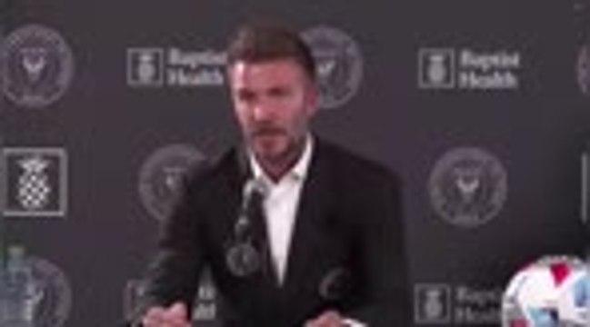 Inter Miami - Beckham et Neville parlent de leur relation et de leurs ambitions