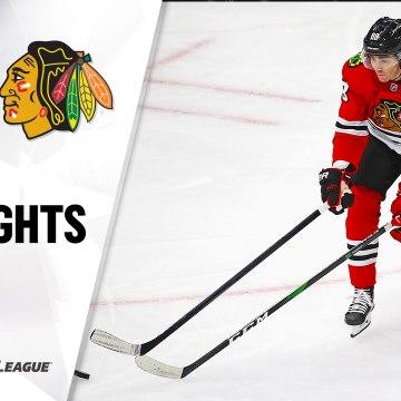NHL Highlights | Red Wings @ Blackhawks 1/22/21