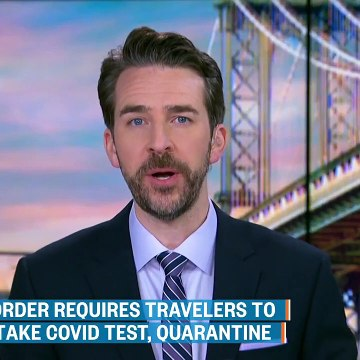 Executive Order Requires Travelers To The U.S. To Take Covid Test, Quarantine