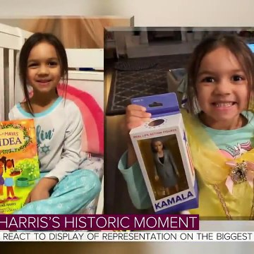 Girls React To Display Of Representation After Kamala Harris' Swearing-In