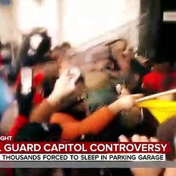 National Guard Troops Back Inside Capitol After Furor Over Move To Parking Garage
