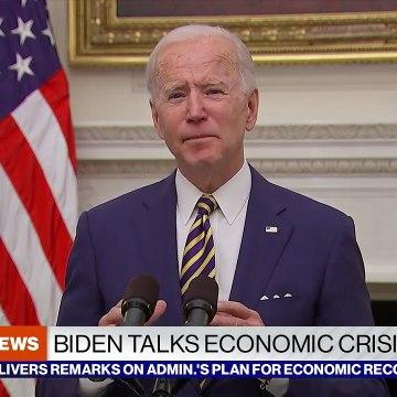 President Biden discusses economic crisis