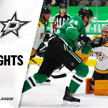 NHL Highlights | Predators @ Stars 1/22/21