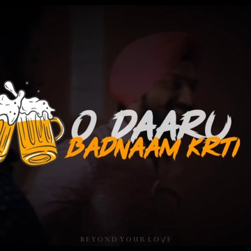 Daru Badnaam Kar Di  Whatsaap Status || Punjabi song status ❤️ || Black Screen Status