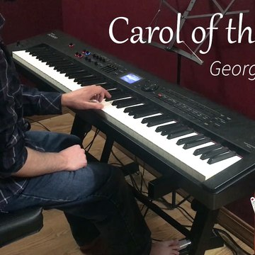 "George Winston- ""Carol of the Bells"""