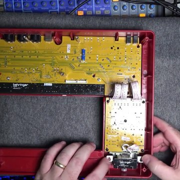 Synth Repair - Behringer MS-1 / MS-101 Mod Wheel Sticking