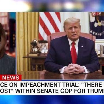 Senate GOP torn over convicting Trump 'There's no love lost'