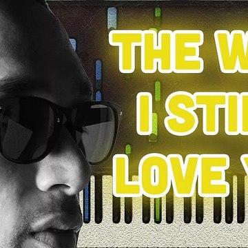 Reynard Silva - The way I still love you (Piano Tutorial)