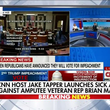 Rep. Brian Mast gives fiery response to smear from CNN's Jake Tapper