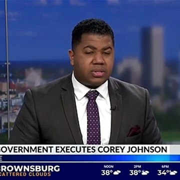 Federal government carries out execution of Corey Johnson