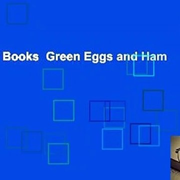 About For Books  Green Eggs and Ham  Review