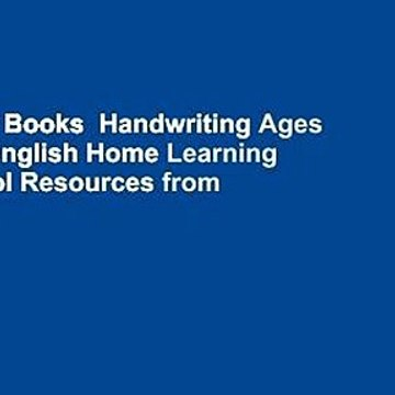 About For Books  Handwriting Ages 7-9: KS2 English Home Learning and School Resources from the