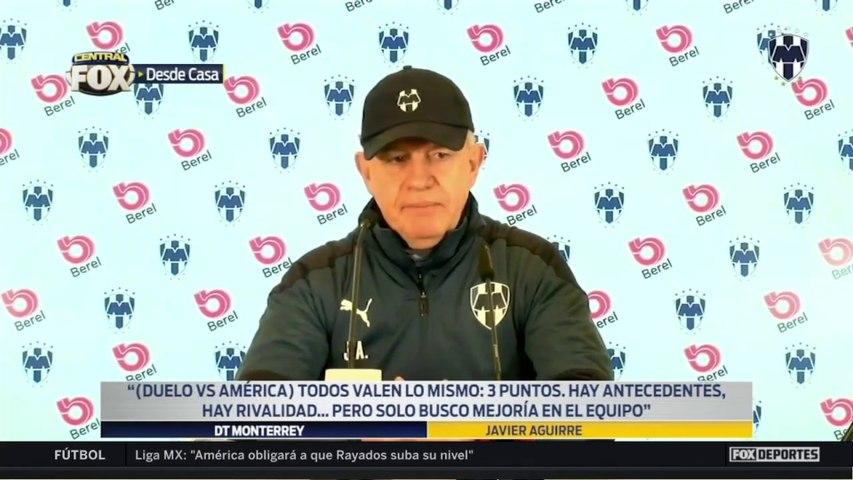 """""""Queremos dejar en casa una buena imagen"""", Javier Aguirre: Liga MX"""
