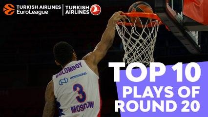 Regular Season, Round 20: Top 10 plays