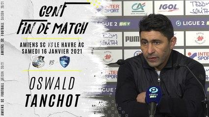 Conférence d'après match ASC - Le Havre : Oswald Tanchot