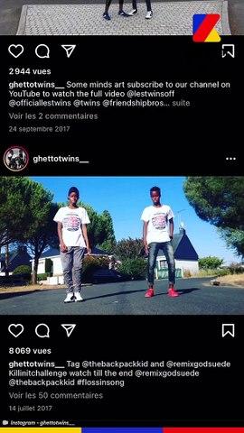 Le trio Ghetto Twins se présente dans Interneteur