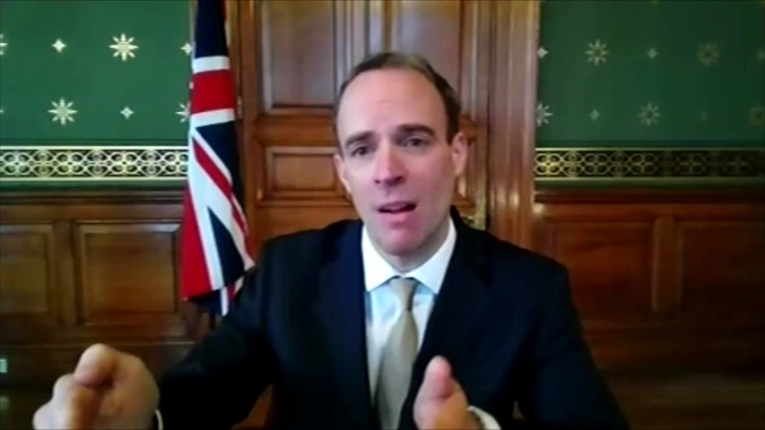Raab: Government confident both Covid jabs will be given