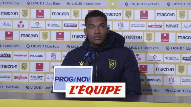 Lafont : « J'en ai marre de prendre des buts » - Foot - L1 - Nantes