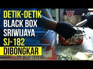 Black Box Sriwijaya SJ-182 Dibongkar, Ini Isinya!