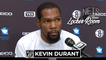 Kevin Durant Reacts to James Harden Nets Debut