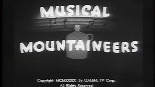 Betty Boop - Musical mountaineers (1939)