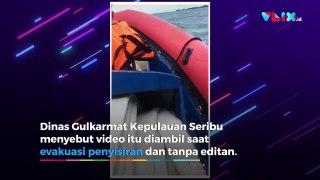 Suara Misterius Minta Tolong di TKP Jatuhnya Sriwijaya Air