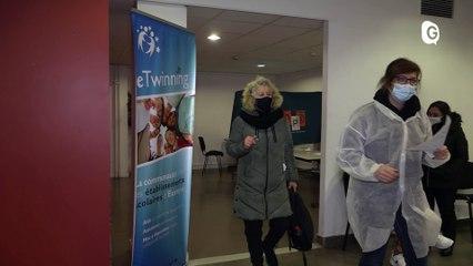 Reportage - Des centres de tests reservés aux membres de l'Education nationale - Reportage - TéléGrenoble