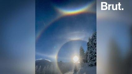 Sun dogs: a wintertime phenomenon in the sky
