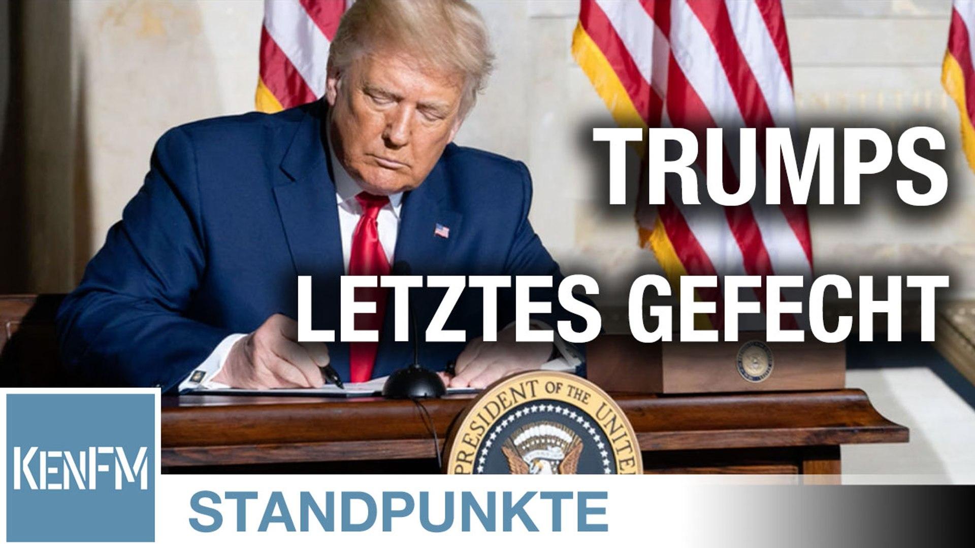 Trumps letztes Gefecht